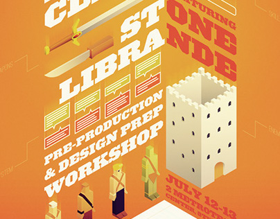 NYU Game Center Master Class Poster