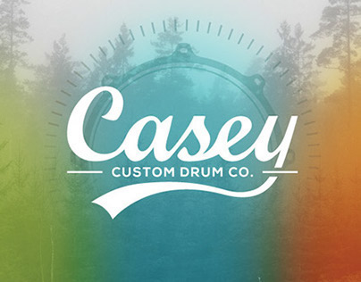Casey Drums Rebrand