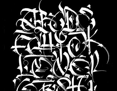 Calligraphy. TANAI