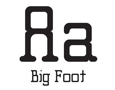 Big Foot Typeface