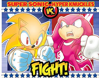 Graphic Design: Sonic the Hedgehog (SEGA/Archie Comics)