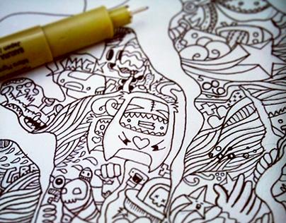 ~DOODLE PLAY~ - A Doodle Art Project