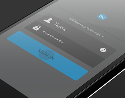 Behance mobile login