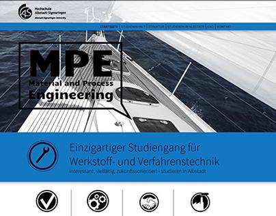 Screendesign / Programming - AlbSig University - MPE