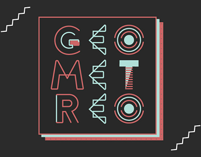 Geometreo Typeface