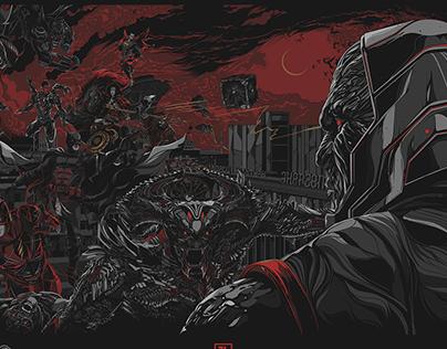 "Alternative poster ""Zack Snyder Justice league"""