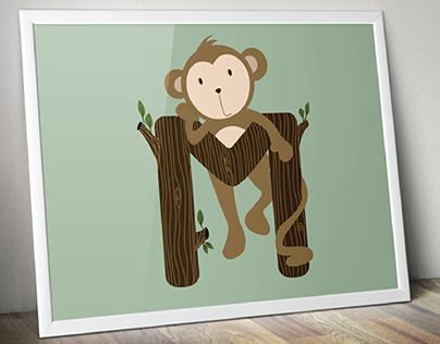 Animals: Little Monkey