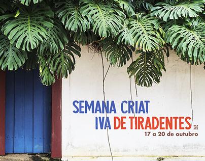 Semana Criativa de Tiradentes