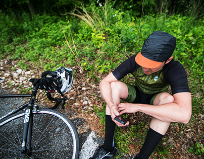 Lone Wolf Cycling Apparel Photography
