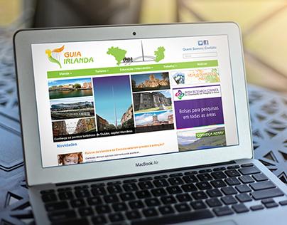 Website Guia Irlanda - Dublin - Ireland