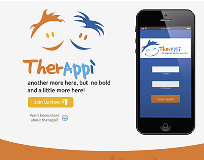 Therappi- landing page