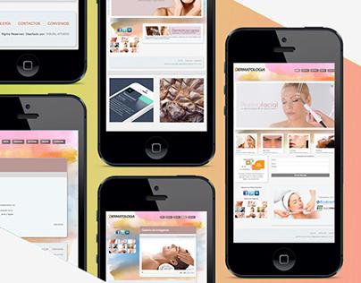 Diseño Web Dermatologiaec