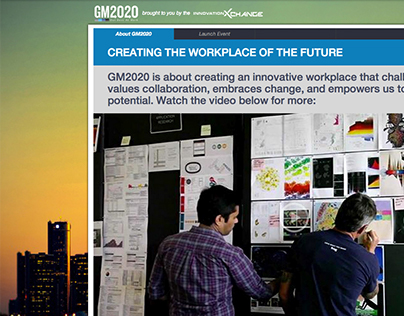 GM2020: Our Best at Work // Microsite