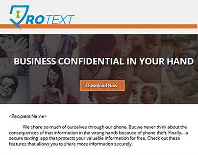 Protext E-mail Blast