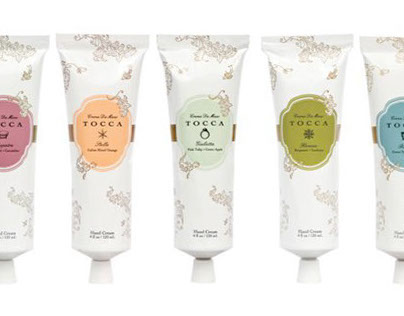 Tocca Packaging Design