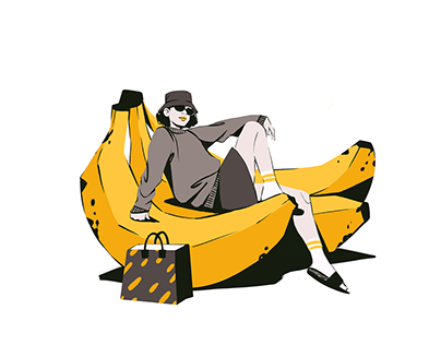 Color Vibes: Juicy Digital Illustrations