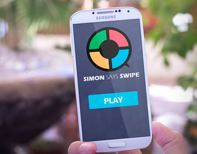 Simon Says Swipe - Mobile Game