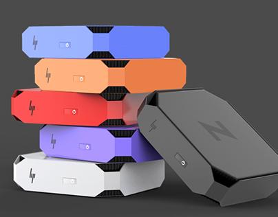 HP's New Z2 Mini Workstation  Color Concept