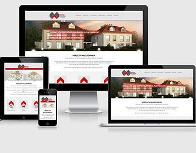 Webseiten Gestaltung: Meister Wohnbau
