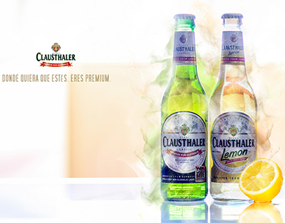 Clausthaler Premium Beer Image Project