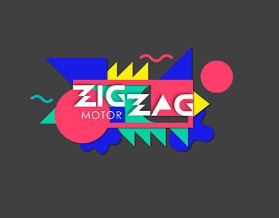 Branding for ZigZagMotor - car redesign station