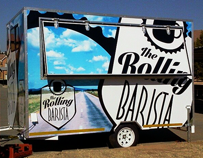 The Rolling Barista Brand Creation