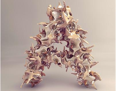 /// Sculptural alphabet ///