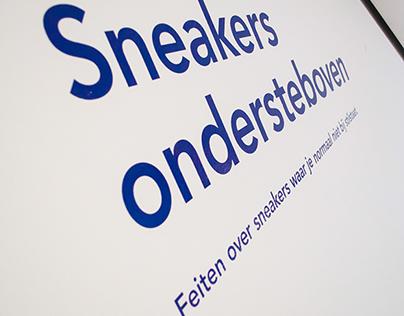 Sneakers ondersteboven