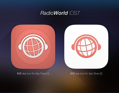 iOS7 Icon -RadioWorld
