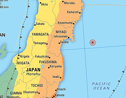 Earthquake maps