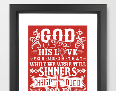 Bible typographics