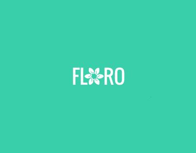 Floro - Responsive Gridalicious CSS3 Ghost Theme