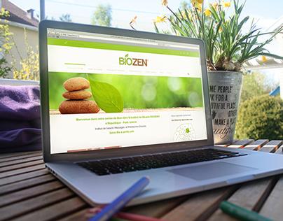 Biozen Beauty Salon Redesign Website