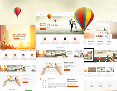 Altus - Multi-Purpose Wordpress Theme