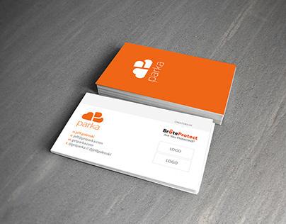 Parka Business Card Mockups (unused)