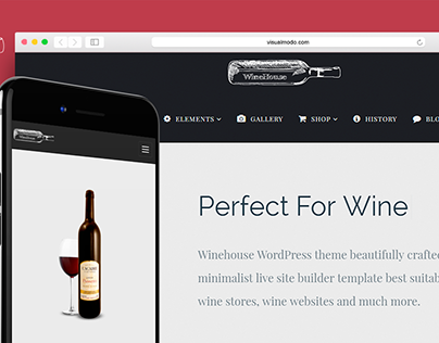 WineHouse WordPress Theme - Elements