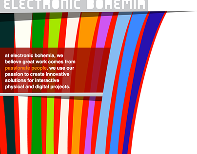 Electronic Bohemia - Website