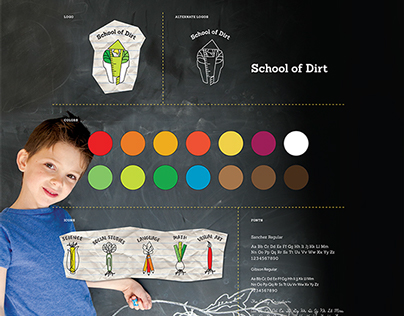 School of Dirt - an Elementary School Gardening Program