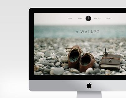 A Walker - Architecture Portfolio Web Brand