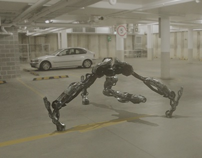 """3D Animation VFX - """"Sorry, you can't park here"""""""