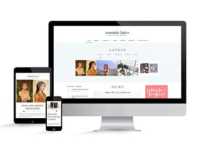 Design & lifestyle magazine web design