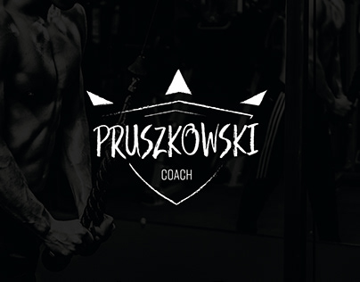 Logo and business card project / Pruszkowski Coach