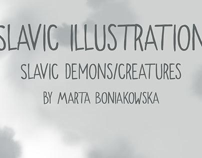 Slavic Mythology (illustrations/GIF)