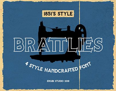 Free Brattlies Sans Serif Font