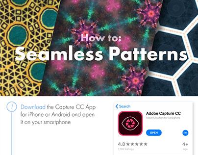Photoshop Protip: Seamless patterns with Adobe Capture