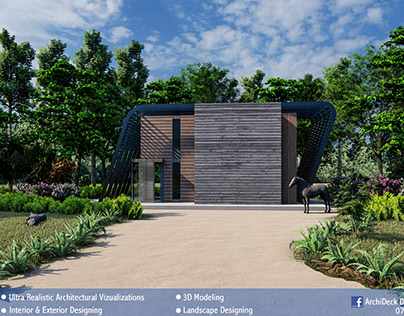 Modern Cottage in Woods