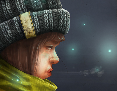 Rediscovering digital painting : Hungry Lights