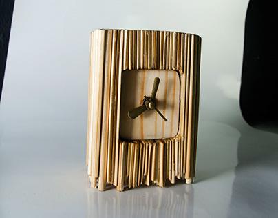 Bamboo Table Clock