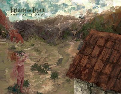 Boardgame Fanart Attack on TItan