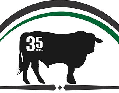 Indruk 35 Year Special Logo Design